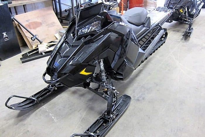 2019 Polaris 800 AXYS RMK 163 Black 2