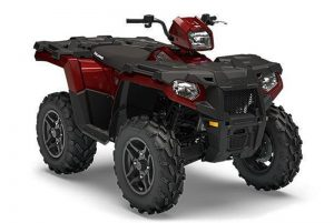 2019 sportsman 570 SP Crimson Metallic