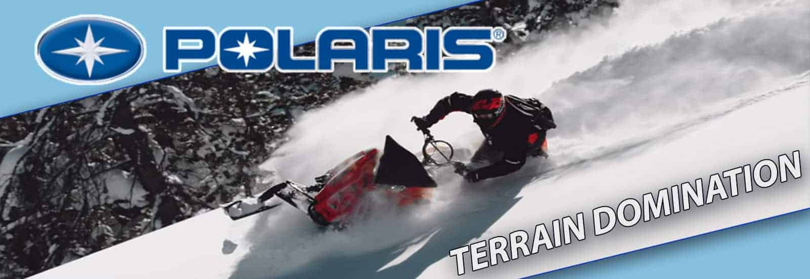polaris snowmobile hero