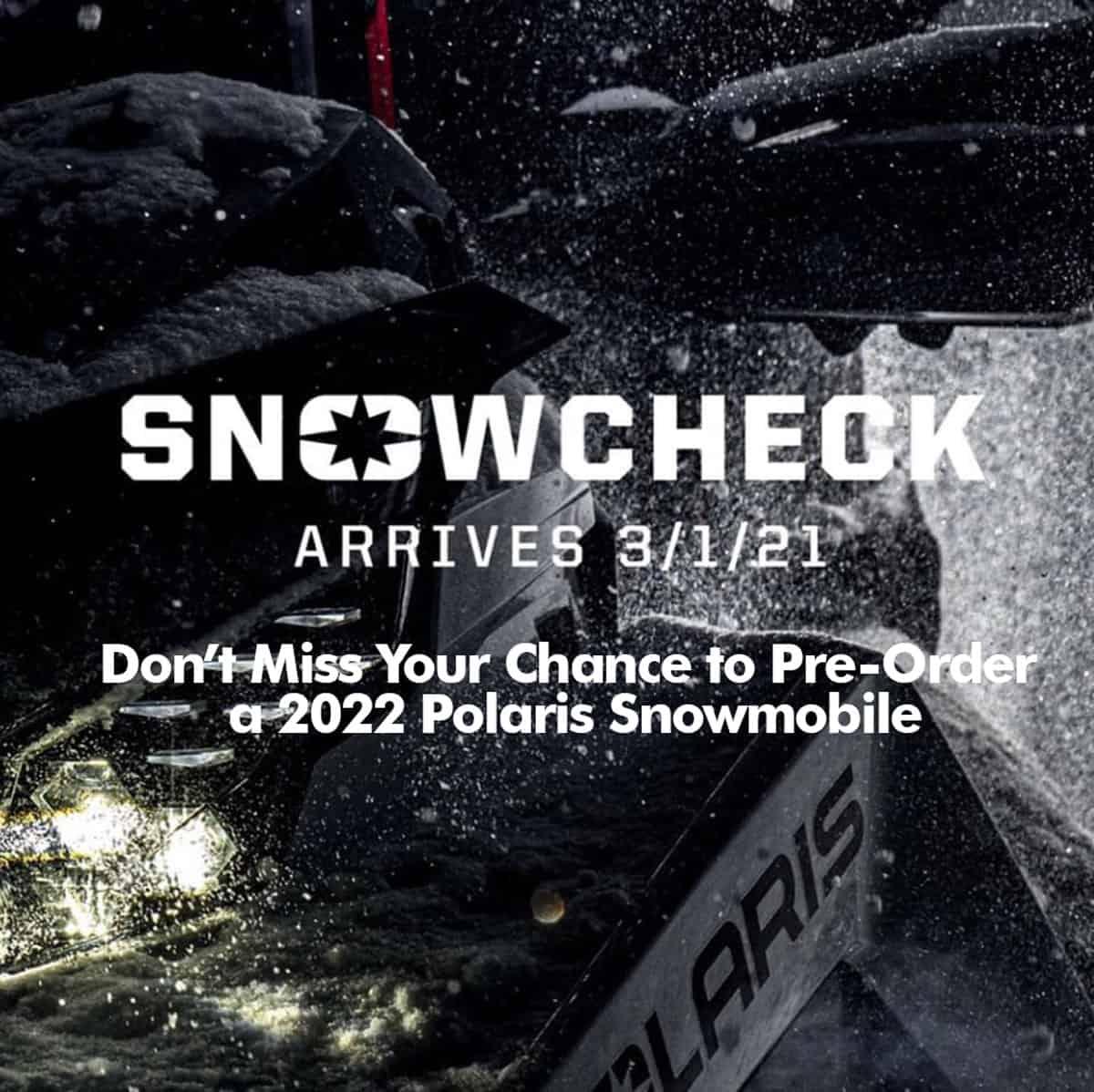 snowcheck ad